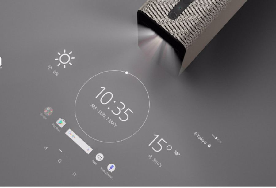 Projektor sony xperia touch