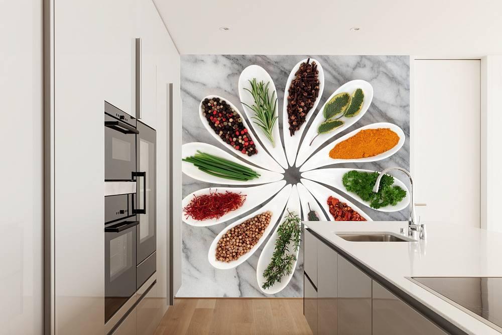 Fototapety do kuchni przyprawnik